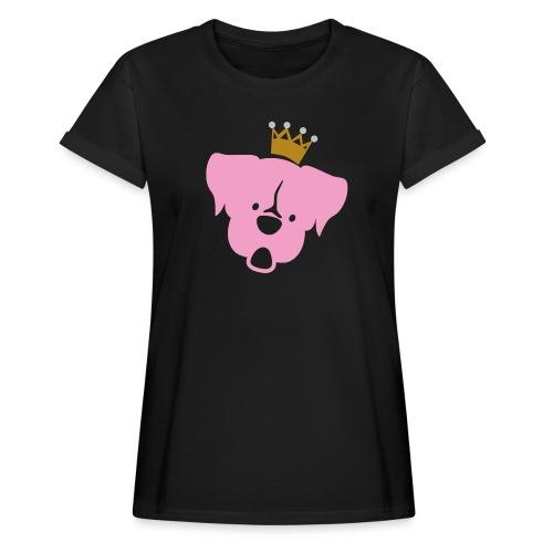 Prinz Poldi rosa - Frauen Oversize T-Shirt