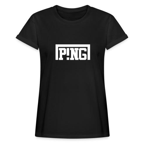 ping2 - Vrouwen oversize T-shirt