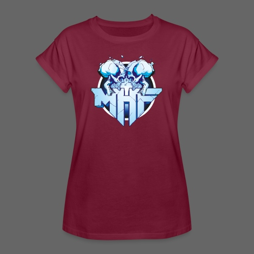 MHF New Logo - Women's Oversize T-Shirt