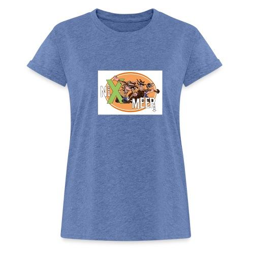 nixenmeer - Vrouwen oversize T-shirt