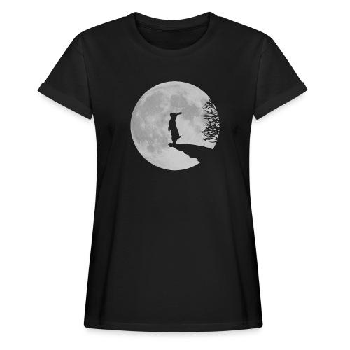 rabbit_wolf-png - Women's Oversize T-Shirt