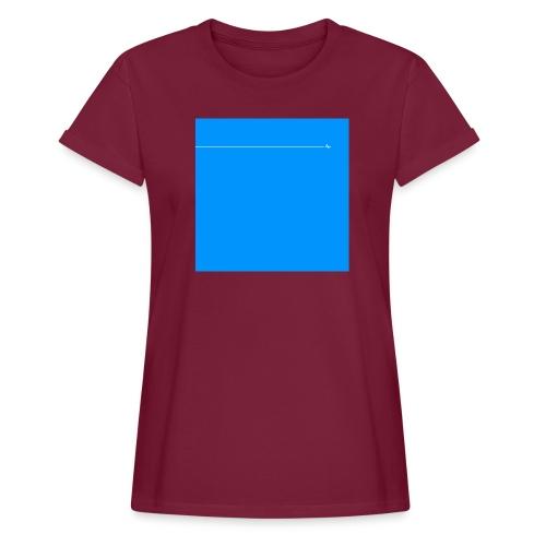 sklyline blue version - T-shirt oversize Femme