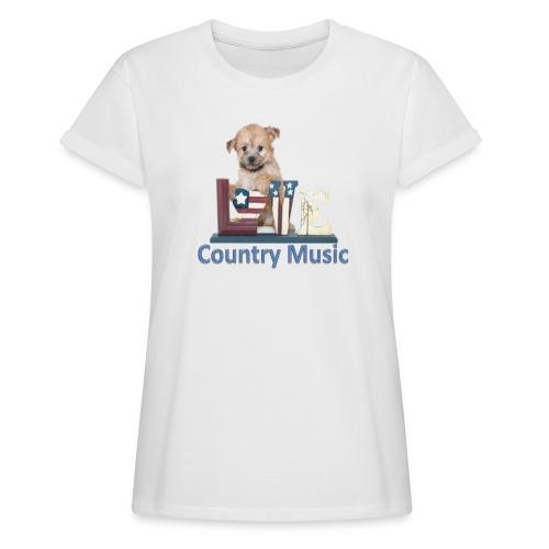 countrydog-png - Maglietta ampia da donna