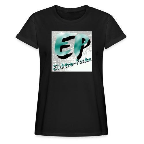 Elektro-Pocke T-Shirt Premium - Frauen Oversize T-Shirt