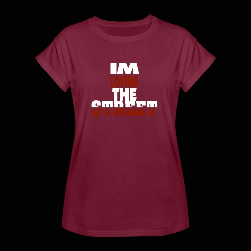 IMLOVINGTHESTREET - Dame oversize T-shirt