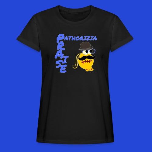 PraisePathorizia - Maglietta ampia da donna