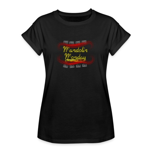 Mandolin Monday - Women's Oversize T-Shirt