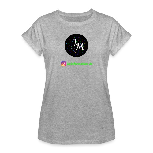 jminformation-Logo - Frauen Oversize T-Shirt
