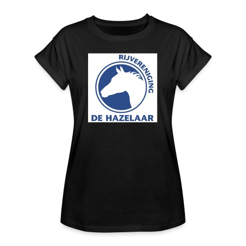 LgHazelaarPantoneReflexBl - Vrouwen oversize T-shirt