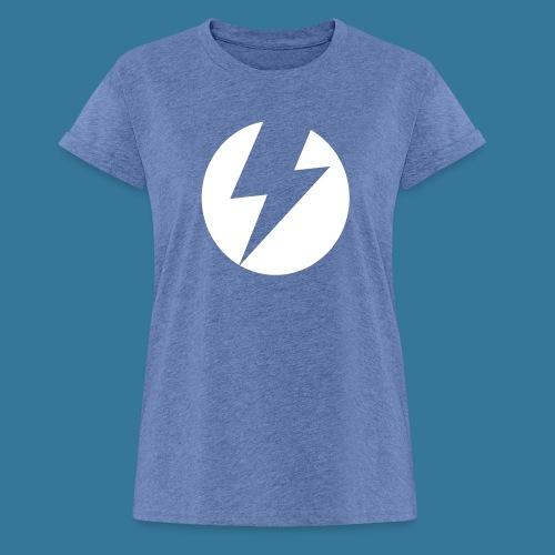 BlueSparks - White - Women's Oversize T-Shirt