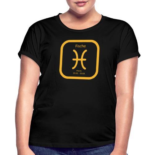 Horoskop Fische12 - Frauen Oversize T-Shirt