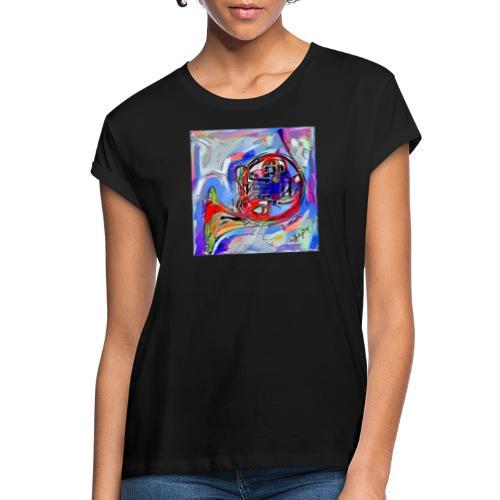 cornoarte1 - Vrouwen oversize T-shirt