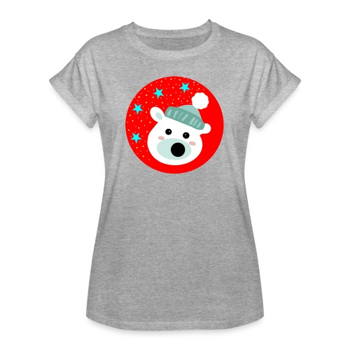 Winter bear - Women's Oversize T-Shirt