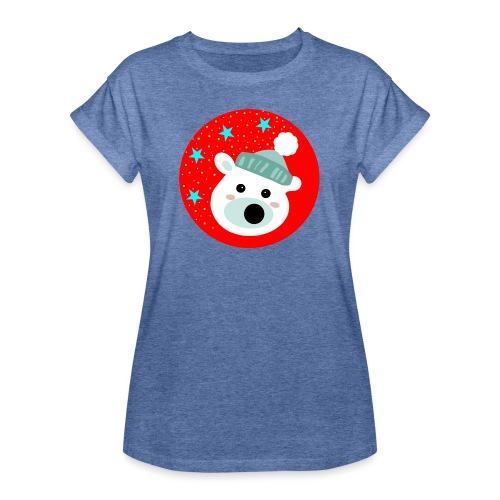 Winter bear - Women's Oversize T-Shirt