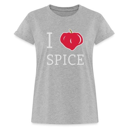 i_love_spice-eps - Naisten oversized-t-paita