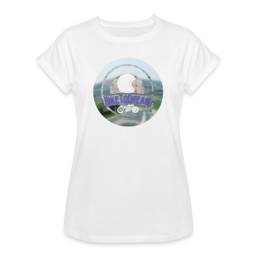 BikeToDream - T-shirt oversize Femme