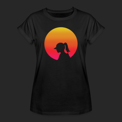Gradient Girl - Women's Oversize T-Shirt
