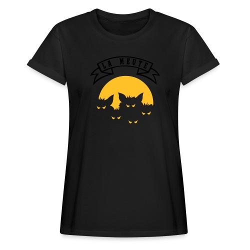 la meute - T-shirt oversize Femme