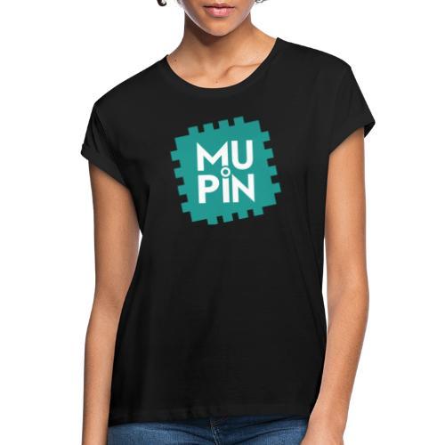 Logo Mupin quadrato - Maglietta ampia da donna