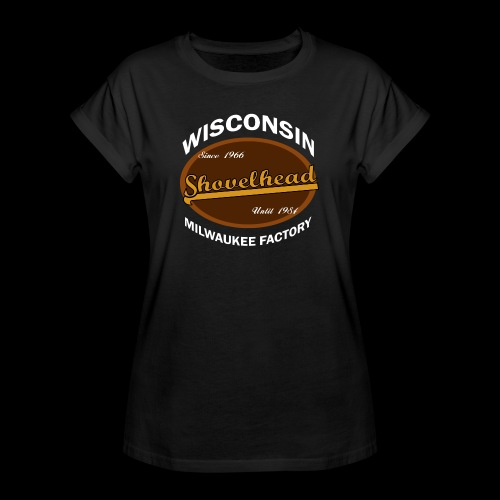Milwaukee Shovelhead - Frauen Oversize T-Shirt
