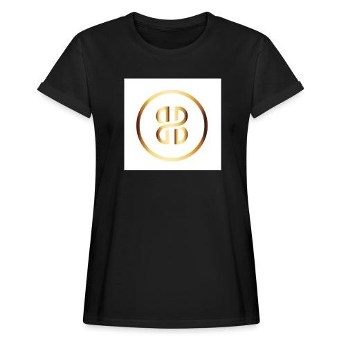 BKI logo circle - Women's Oversize T-Shirt