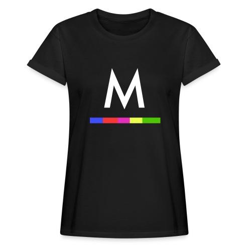 Metro - Camiseta holgada de mujer