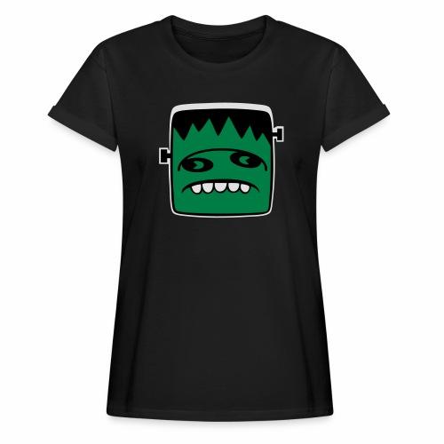 Fonster Weisser Rand ohne Text - Frauen Oversize T-Shirt
