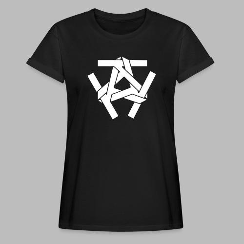KKK-Logo-vektor - Frauen Oversize T-Shirt