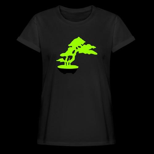 bonsai_baum_2 - Frauen Oversize T-Shirt