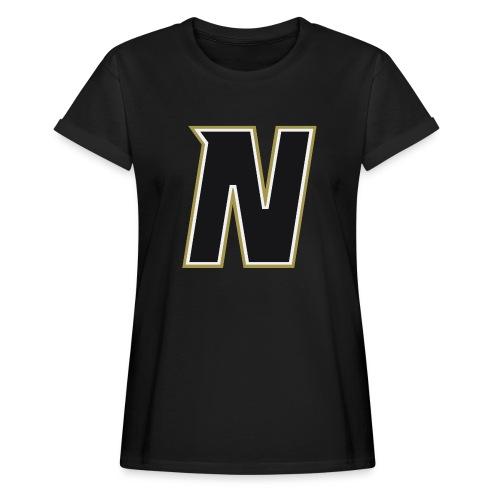 Nordic Steel Black N - Women's Oversize T-Shirt