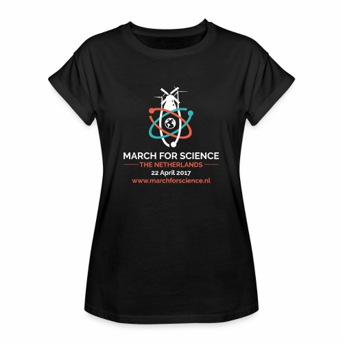 MfS-NL logo dark background - Women's Oversize T-Shirt