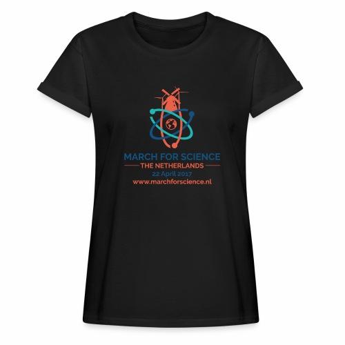 MfS-NL logo light background - Women's Oversize T-Shirt