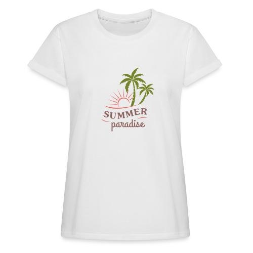 Summer paradise - Women's Oversize T-Shirt