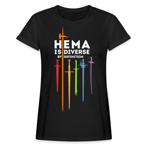 HEMA - Diverse by definition - Camiseta holgada de mujer