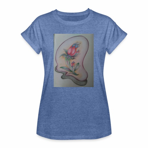 fiore magico - Maglietta ampia da donna