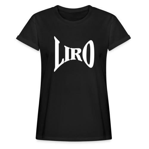 Wide Geometry Logo - Vrouwen oversize T-shirt