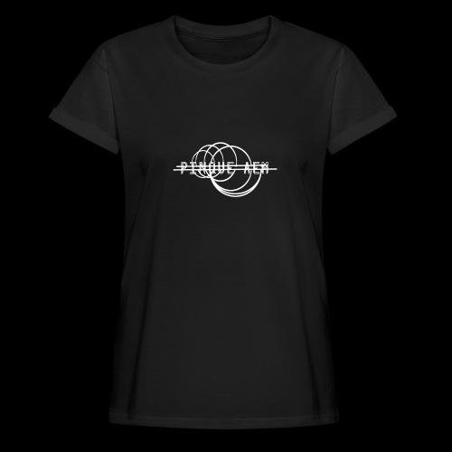 Pinque AEM Bianco - Maglietta ampia da donna