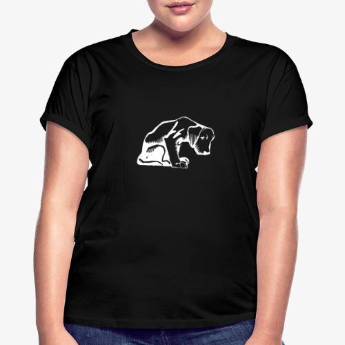dog - T-shirt oversize Femme