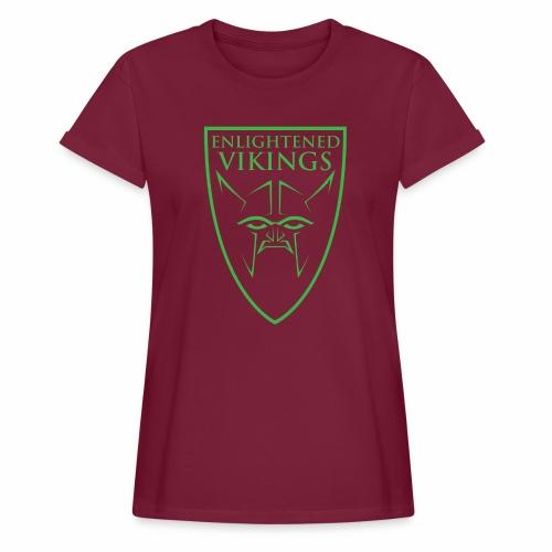Enlightened Vikings (Org) - Oversize T-skjorte for kvinner
