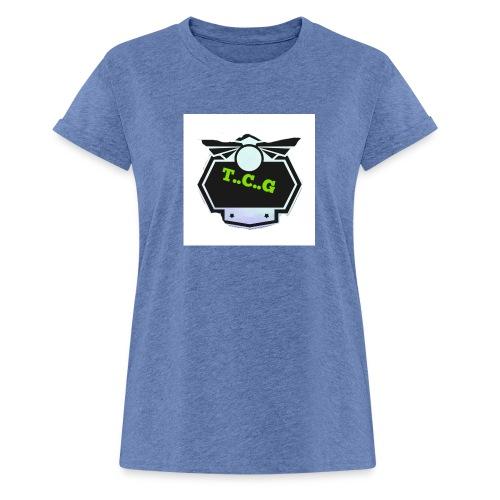 Cool gamer logo - Women's Oversize T-Shirt