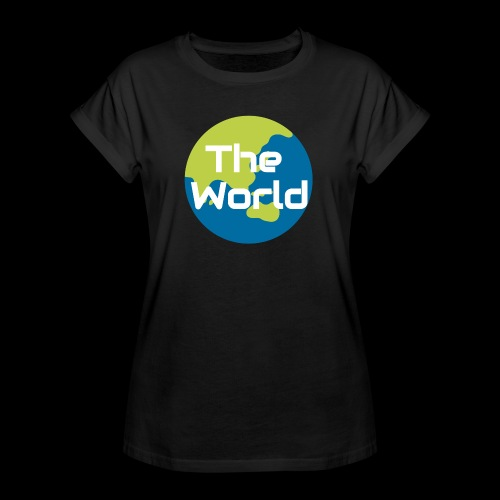 The World Earth - Dame oversize T-shirt