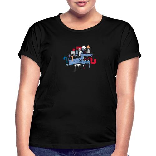 tee fonfon manito - T-shirt oversize Femme