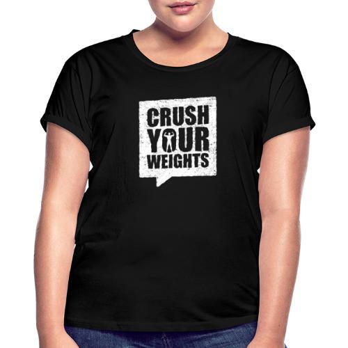 Fitshirt Crush - Vrouwen oversize T-shirt
