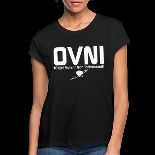 Objet Volant Non Intéressant - T-shirt oversize Femme