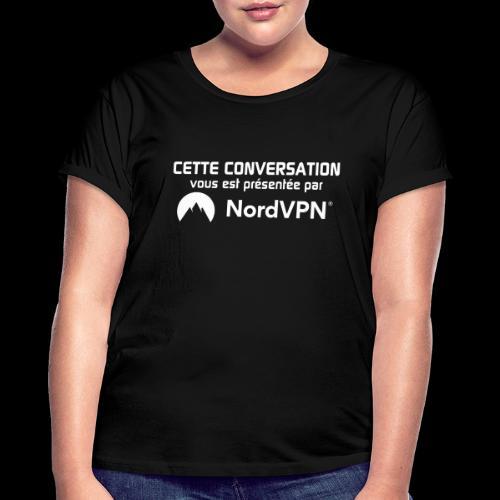 NordVPN - T-shirt oversize Femme