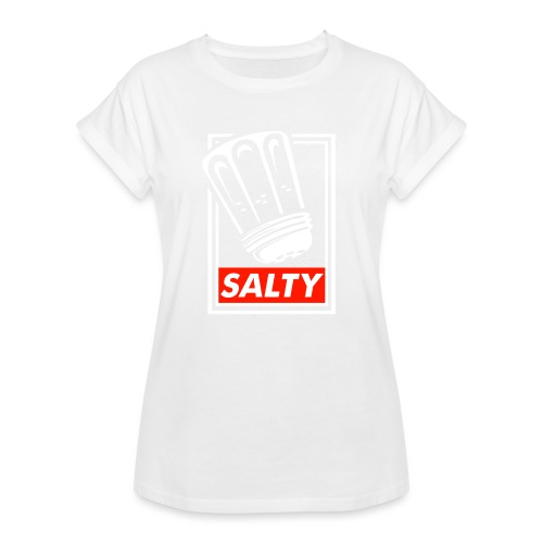 Salty white - Women's Oversize T-Shirt