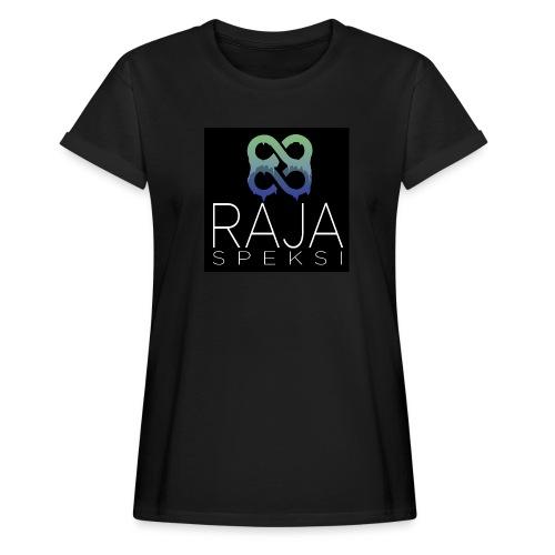 RajaSpeksin logo - Naisten oversized-t-paita