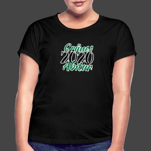 Jägershirt zum Jagdschein - Grünes Abitur 2020 - Frauen Oversize T-Shirt