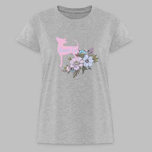 kukkakangasLK - Naisten oversized-t-paita