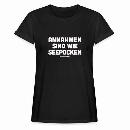 Seepocken - Frauen Oversize T-Shirt